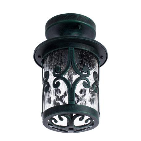 Потолочный светильник Arte Lamp Persia A1453PF-1BG, IP21, 1xE27x75W, бирюзовый, прозрачный, металл, стекло