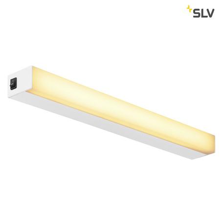 Настенный светодиодный светильник SLV SIGHT 60 1001284, LED 3000K, белый, металл с пластиком