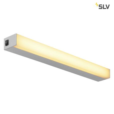 Настенный светодиодный светильник SLV SIGHT 60 1001285, LED 3000K, серый, металл с пластиком