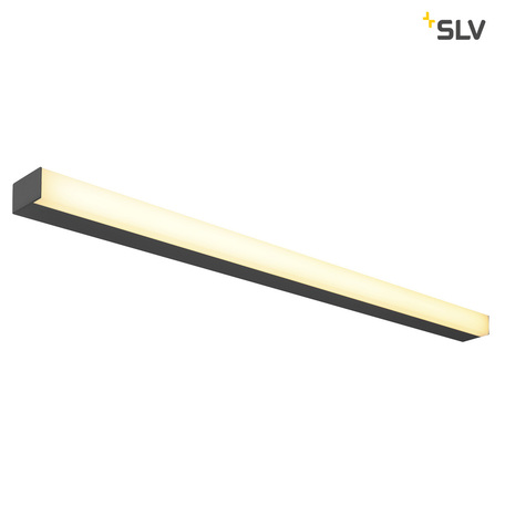 Настенный светодиодный светильник SLV SIGHT 115 1001286, LED 3000K, черный, черно-белый, металл с пластиком