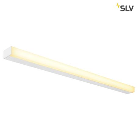 Настенный светодиодный светильник SLV SIGHT 115 1001287, LED 3000K, белый, металл с пластиком