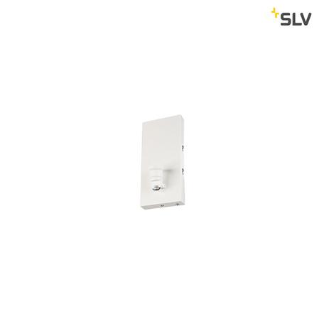 Основание бра SLV FENDA BASIS WL-1 1001272, 1xE27x40W, белый, металл