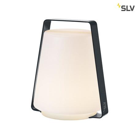 Садовый светодиодный светильник SLV DEGANO 18 1001414, IP44, LED 3000K, серый, белый