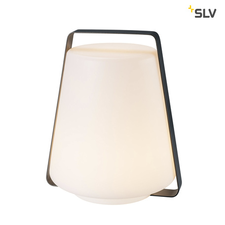 Садовый светодиодный светильник SLV DEGANO 35 1001415, IP44, LED 3000K, серый, белый
