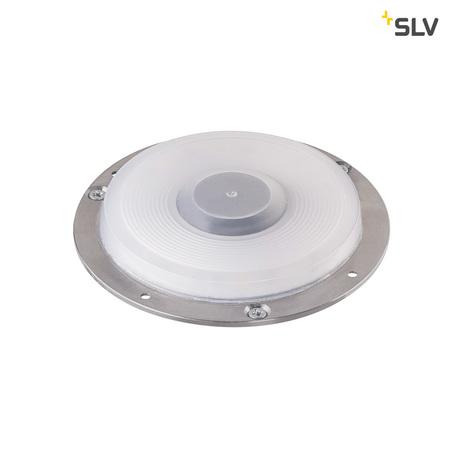 Встраиваемый в уличное покрытие светодиодный светильник SLV BIG PLOT 1001256, IP67, LED 3000K, алюминий, металл