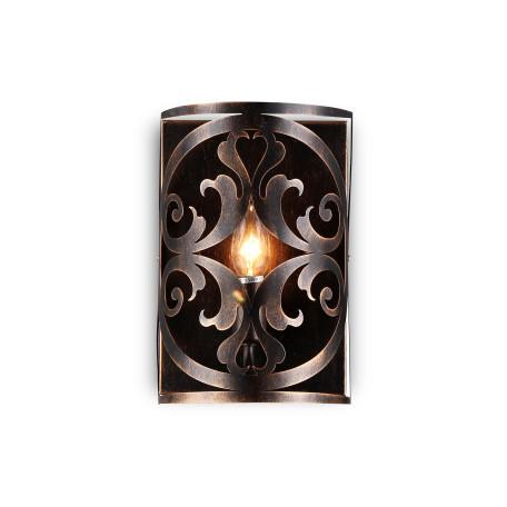 Бра Maytoni Rustika H899-01-R, 1xE14x60W, коричневый, металл