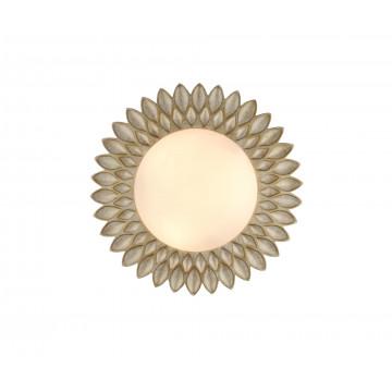 Потолочный светильник Maytoni Classic House Lamar H301-03-G, 3xE14x40W, бежевый, белый, металл, стекло - миниатюра 2