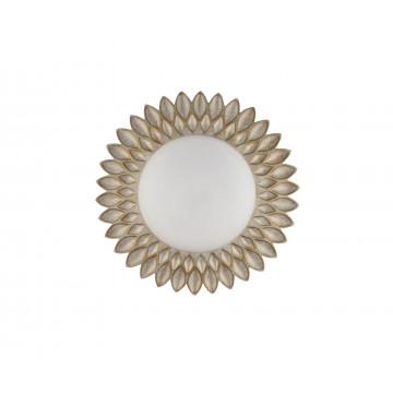 Потолочный светильник Maytoni Lamar H301-03-G, 3xE14x40W, бежевый, белый, металл, стекло - миниатюра 3