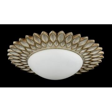 Потолочный светильник Maytoni Classic House Lamar H301-03-G, 3xE14x40W, бежевый, белый, металл, стекло - миниатюра 5