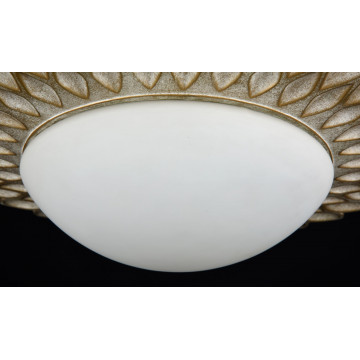 Потолочный светильник Maytoni Classic House Lamar H301-03-G, 3xE14x40W, бежевый, белый, металл, стекло - миниатюра 8