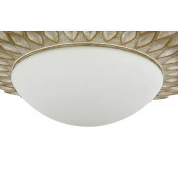 Потолочный светильник Maytoni Lamar H301-03-G, 3xE14x40W, бежевый, белый, металл, стекло - миниатюра 9