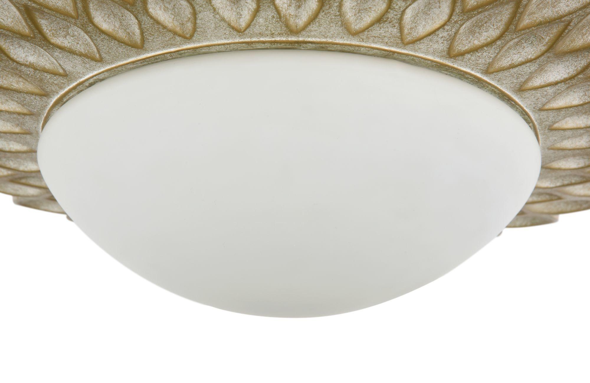 Потолочный светильник Maytoni Lamar H301-03-G, 3xE14x40W, бежевый, белый, металл, стекло - фото 9