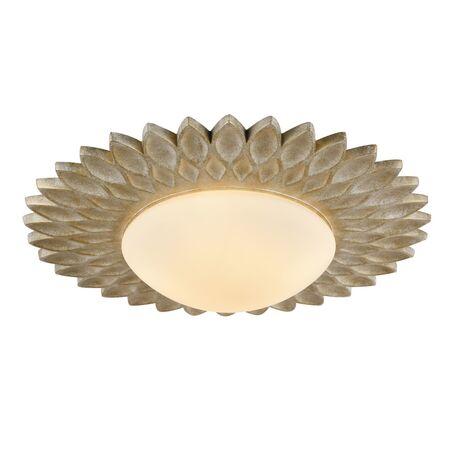 Потолочный светильник Maytoni Lamar H301-04-G, 4xE14x40W, бежевый, белый, металл, стекло