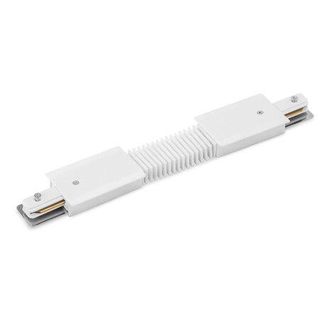 Гибкий соединитель для шинопровода Arte Lamp Instyle A150133, белый, пластик