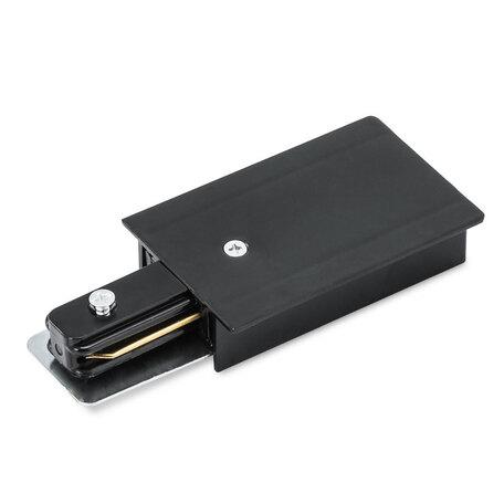 Подвод питания для шинной системы Arte Lamp Instyle A160106, черный, пластик