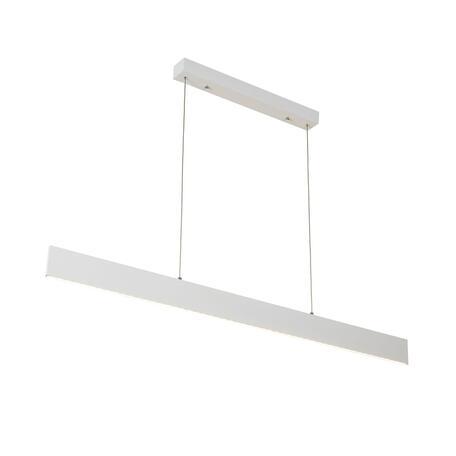 Подвесной светодиодный светильник Citilux Рейзор CL719340 3000K (теплый), белый, металл