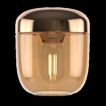 Плафон Umage Acorn 2215, золото, янтарь, металл, стекло