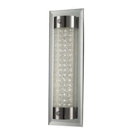 Настенный светильник Mantra Tube 5533, хром, матовый, металл, стекло