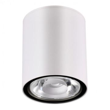 Потолочный светодиодный светильник Novotech Street Tumbler 358012, IP65, LED 6W 3000K 520lm, белый, металл, стекло