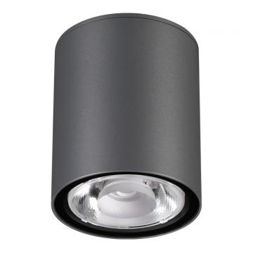Потолочный светильник Novotech 358011, IP65, серый, металл, стекло