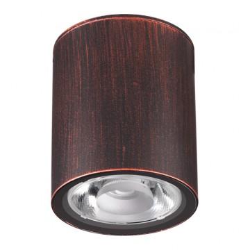Потолочный светильник Novotech 358013, IP65, коричневый, металл, стекло