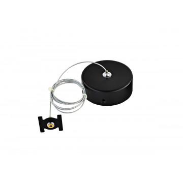 Набор для подвесного монтажа магнитной системы Donolux Magic Track Suspension kit DLM/Black