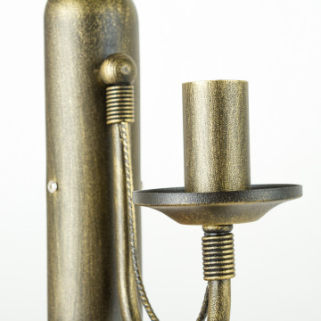 Бра Nowodvorski Ares 202, 1xE14x60W, бронза, металл - миниатюра 4