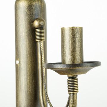 Бра Nowodvorski Ares 202, 1xE14x60W, бронза, металл - миниатюра 6