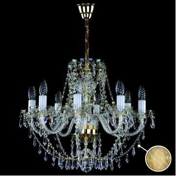Подвесная люстра Artglass SULIKA VIII. - 8003, 8xE14x40W, стекло