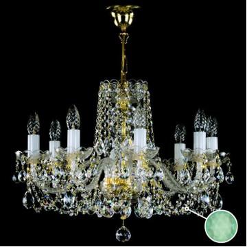 Подвесная люстра Artglass TATANA VIII. - 5005, 8xE14x40W, стекло