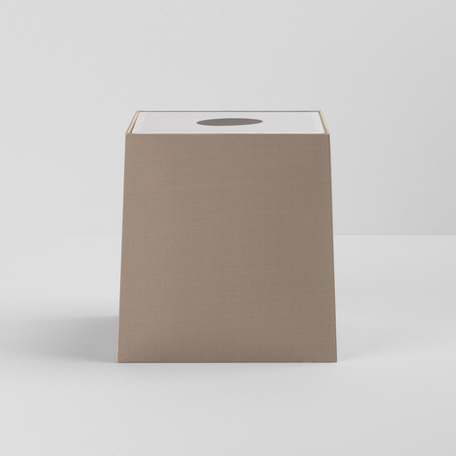 Абажур Astro Tapered Square 5030005 (4204), бежевый, текстиль - миниатюра 1