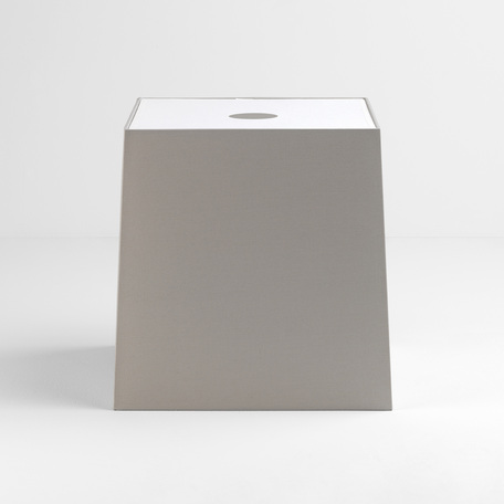 Абажур Astro Tapered Square 5030014 (4213), серый, текстиль