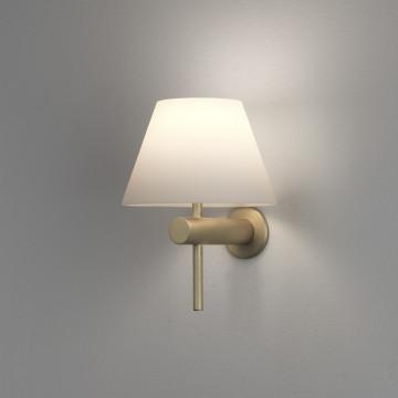 Бра Astro Roma 1050009 (8055), IP44, 1xG9x40W, матовое золото, белый, металл, стекло