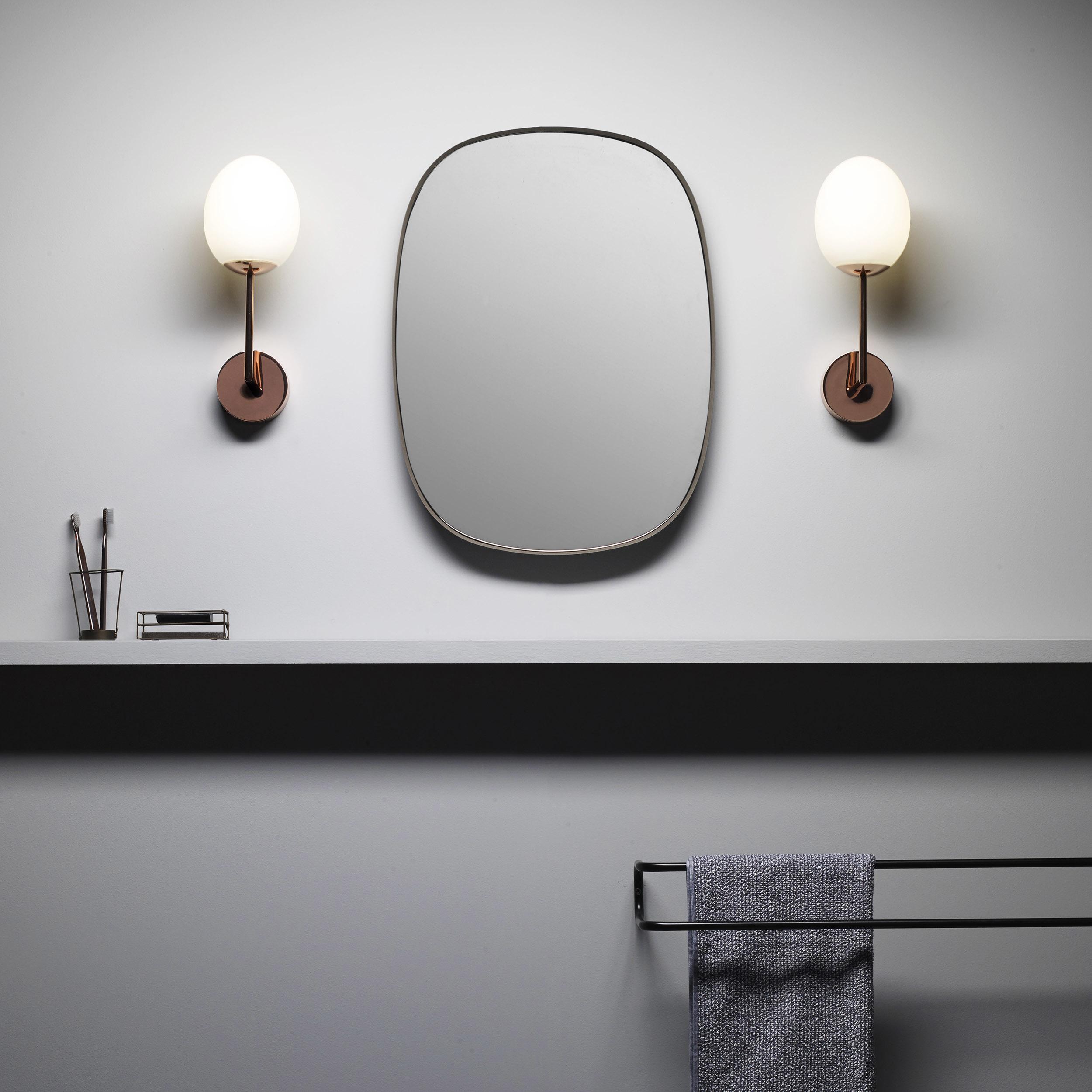 Светодиодное бра Astro Kiwi 1390003 (8010), IP44, LED 7,2W 2700K 567.4lm CRI80, хром, белый, металл, стекло - фото 5