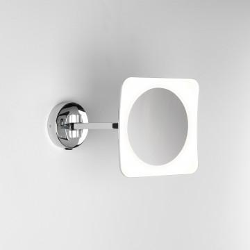 Косметическое зеркало со светодиодной подсветкой и увеличением Astro Mascali 1373003 (7968), IP44, LED 6,1W 2700K 152.6lm CRI80, хром, металл