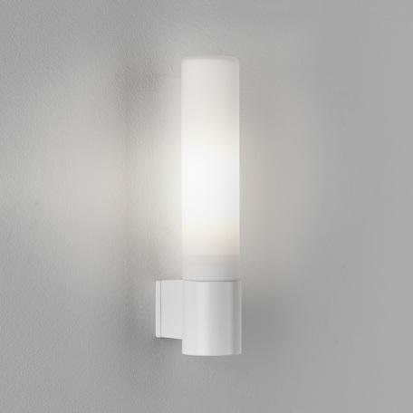 Настенный светильник Astro Bari 1047007 (8038), IP44, 1xG9x40W, белый, металл, стекло