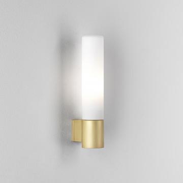 Настенный светильник Astro Bari 1047008 (8057), IP44, 1xG9x40W, матовое золото, белый, металл, стекло