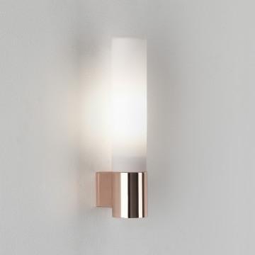 Настенный светильник Astro Bari 1047009 (8058), IP44, 1xG9x40W, медь, белый, металл, стекло