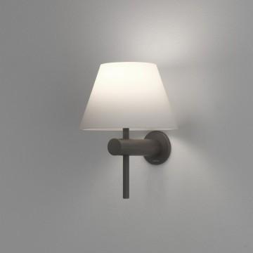 Бра Astro Roma 1050006 (8032), IP44, 1xG9x40W, бронза, белый, металл, стекло