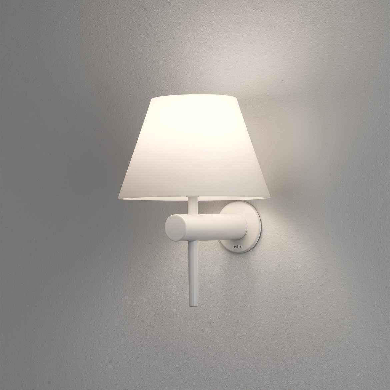 Бра Astro Roma 1050008 (8034), IP44, 1xG9x40W, белый, металл, стекло - фото 1
