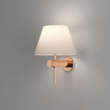 Настенный светильник Astro Roma 1050010 (8056), IP44, 1xG9x40W, медь, белый, металл, стекло