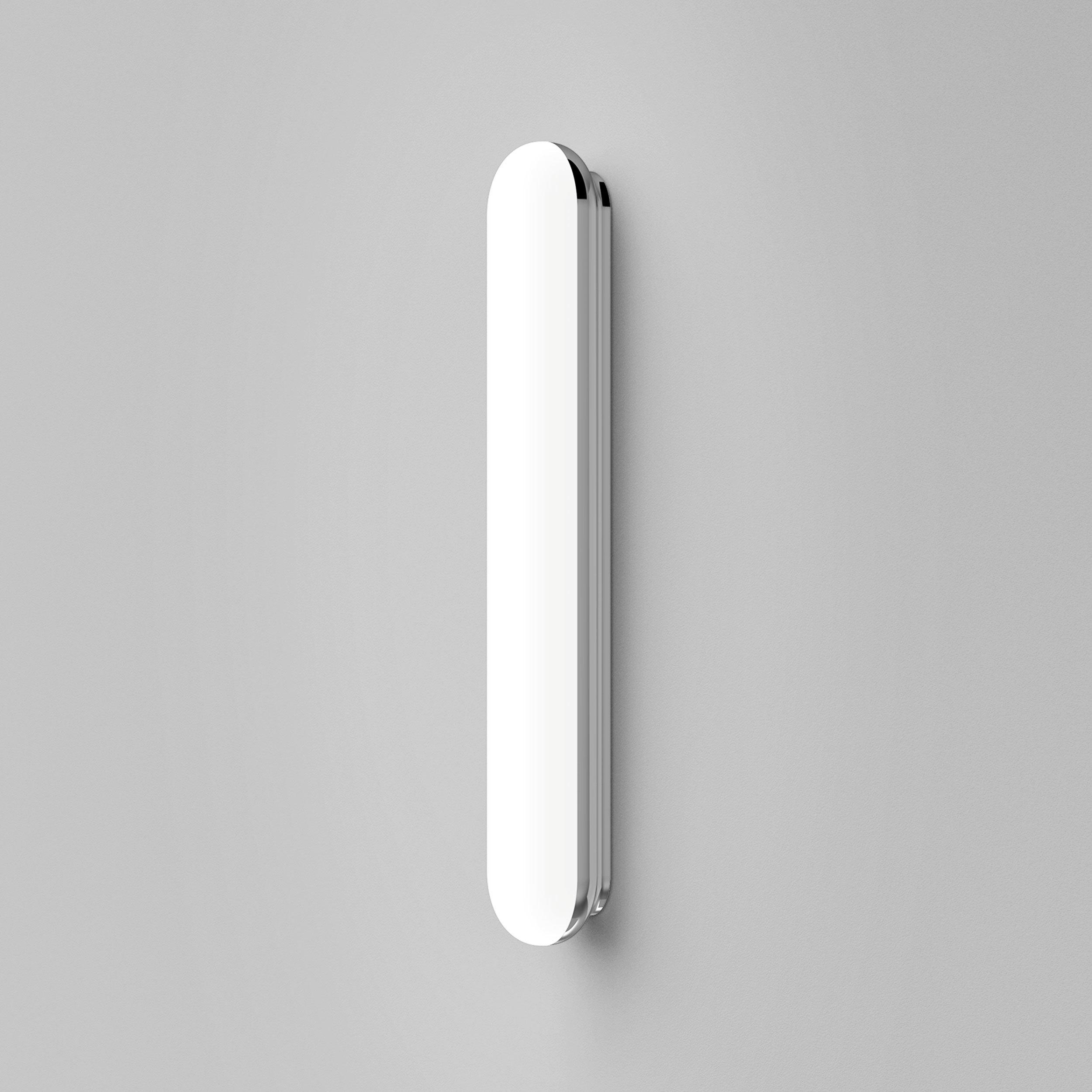 Настенный светодиодный светильник Astro Altea LED 1133006 (8015), IP44, LED 20,3W 3000K 858lm CRI80, хром, белый, металл, пластик - фото 3