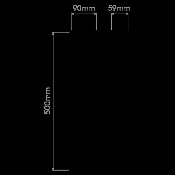 Схема с размерами Astro 1133006