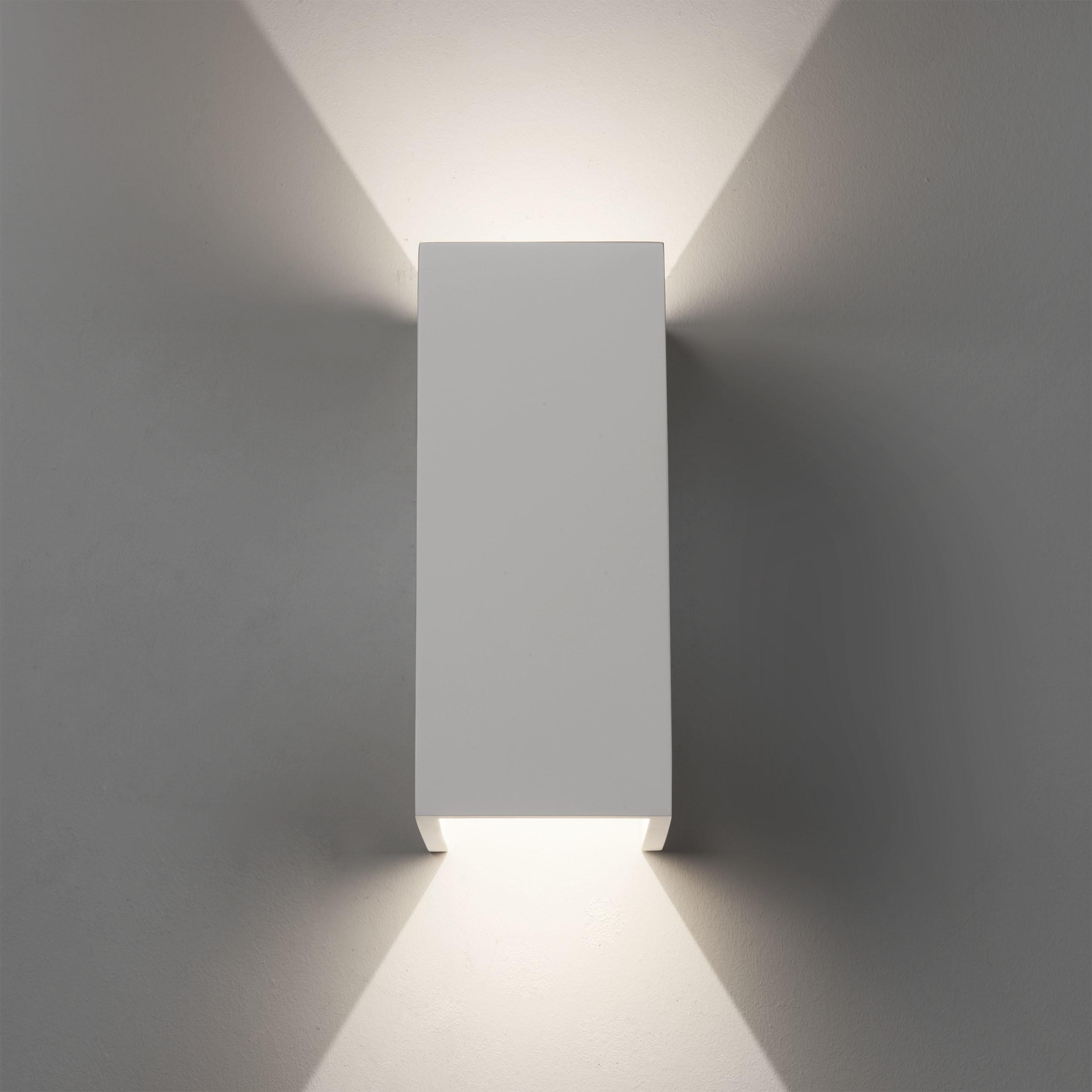 Настенный светодиодный светильник Astro Parma 1187019 (8052), LED 8W 2700K 549.9lm CRI80, белый, под покраску, гипс - фото 2