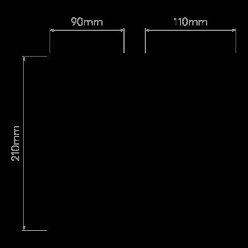 Схема с размерами Astro 1187019