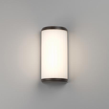 Настенный светодиодный светильник Astro Monza 1194019 (7982), IP44, белый, бронза, металл, стекло