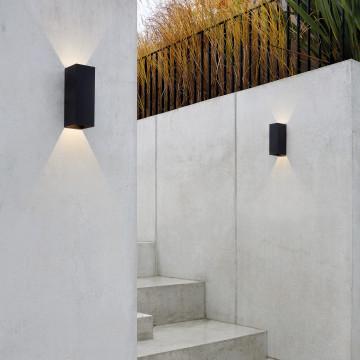 Настенный светодиодный светильник Astro Oslo 1298009 (7991), IP65, LED 7,5W 3000K 270.46lm CRI80, белый, металл, стекло - миниатюра 5