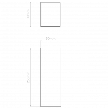 Схема с размерами Astro 1298009