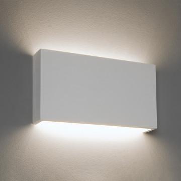 Настенный светодиодный светильник Astro Rio 1325009 (8053), LED 16,4W 2700K 1550.7lm CRI80, белый, под покраску, гипс