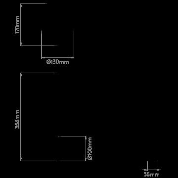 Схема с размерами Astro 1390003